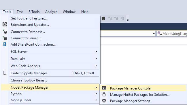 NoSQL adatbázis alkalmazása C# nyelven